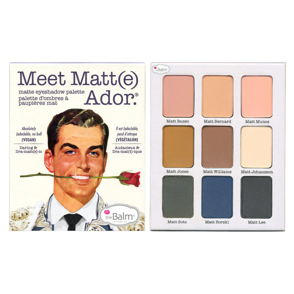 The Balm Eyeshadow Palette Meet Matt(e) Ador