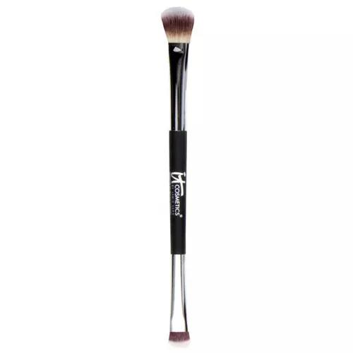 It Cosmetics No Tug Heavenly Luxe Dual Eyeshadow Brush All-Over Smudge 5