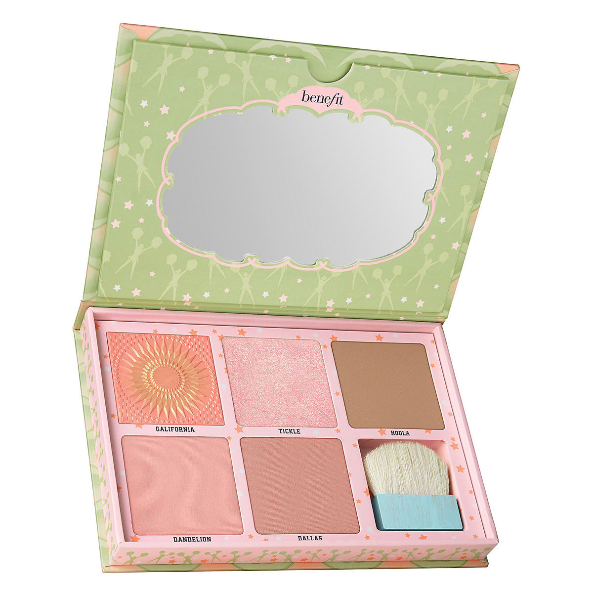 Benefit Cheekleaders Pink Squad Cheek Palette