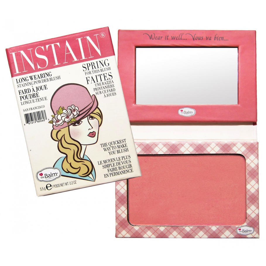The Balm INSTAIN Long-Wearing Blush Argyle