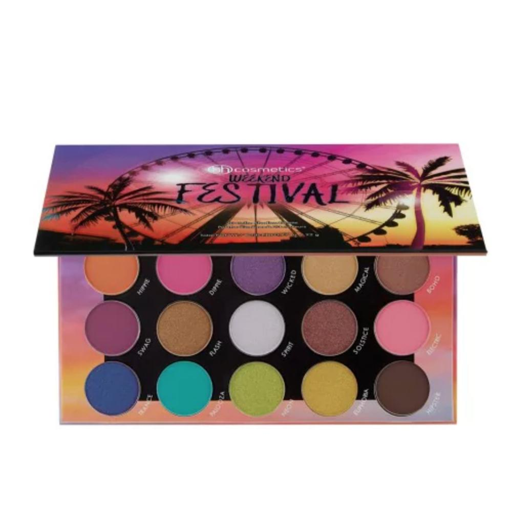 BH Cosmetics Weekend Festival Shadow Palette