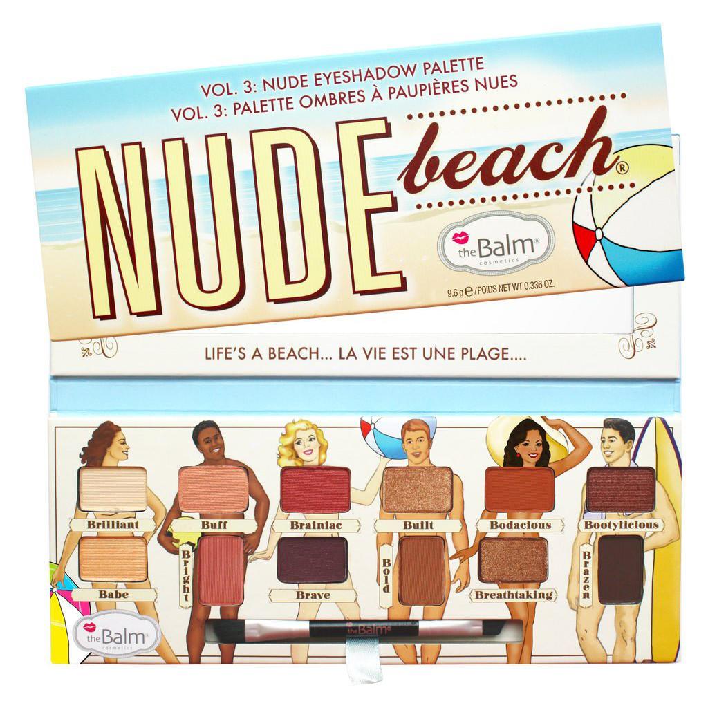 The Balm Eyeshadow Palette Nude Beach Vol. 3