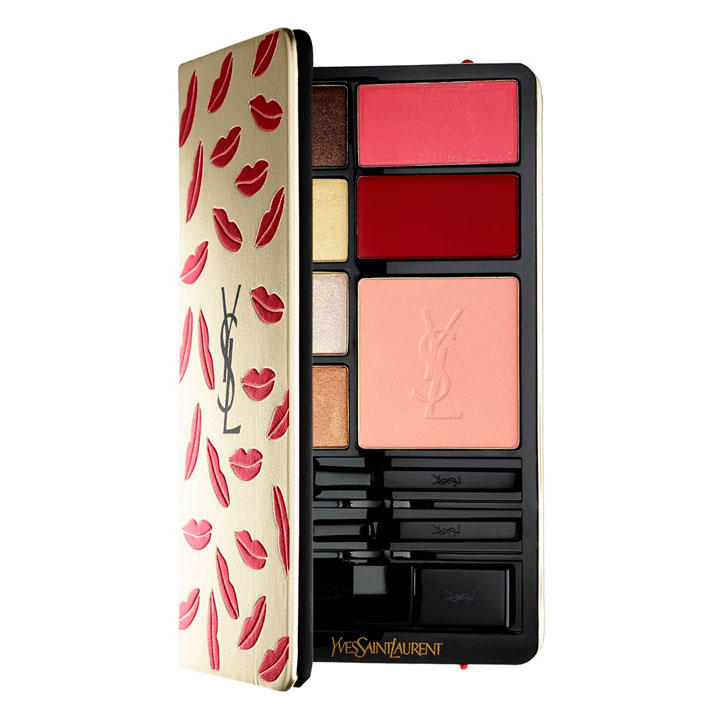 YSL Complete Makeup Palette Kiss and Love Edition