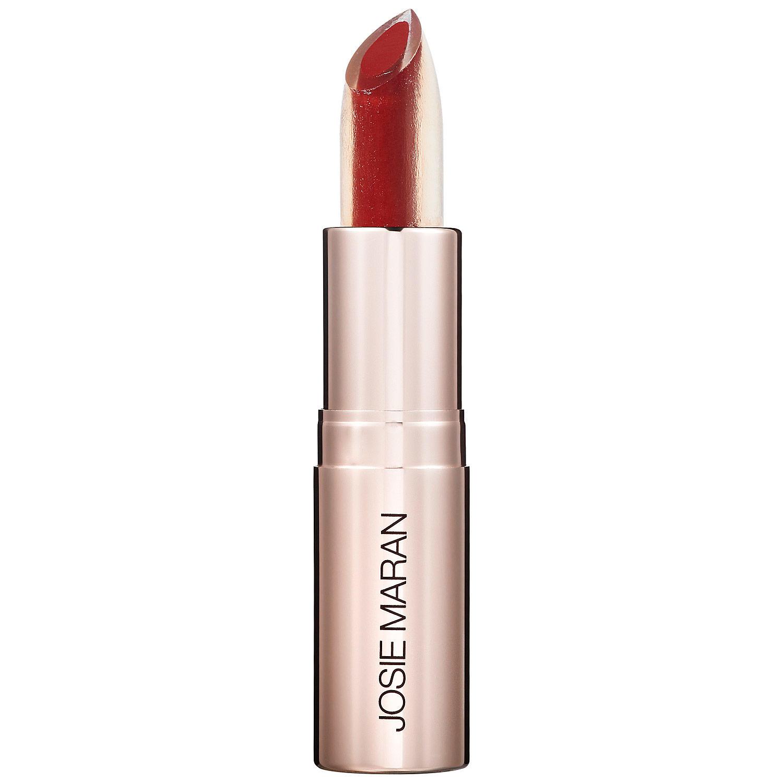 Josie Maran Argan Love Your Lips Hydrating Lipstick Spirited Red