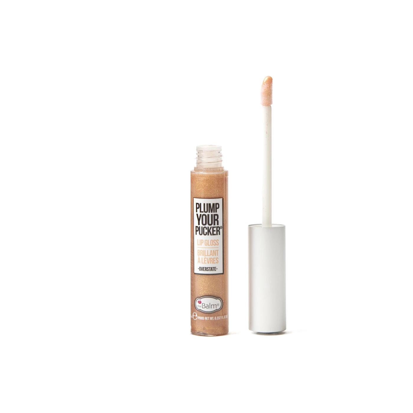 The Balm Plump Your Pucker Lip Gloss Overstate Mini