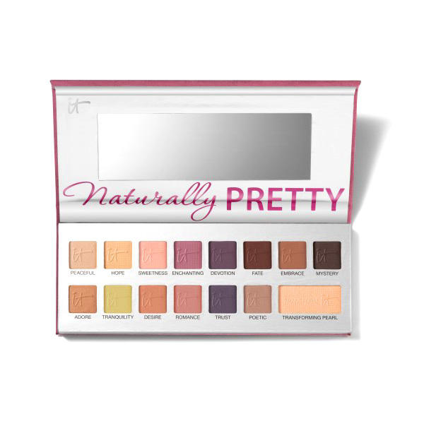 IT Cosmetics Eyeshadow Palette Naturally Pretty Matte Romantics Vol. 2