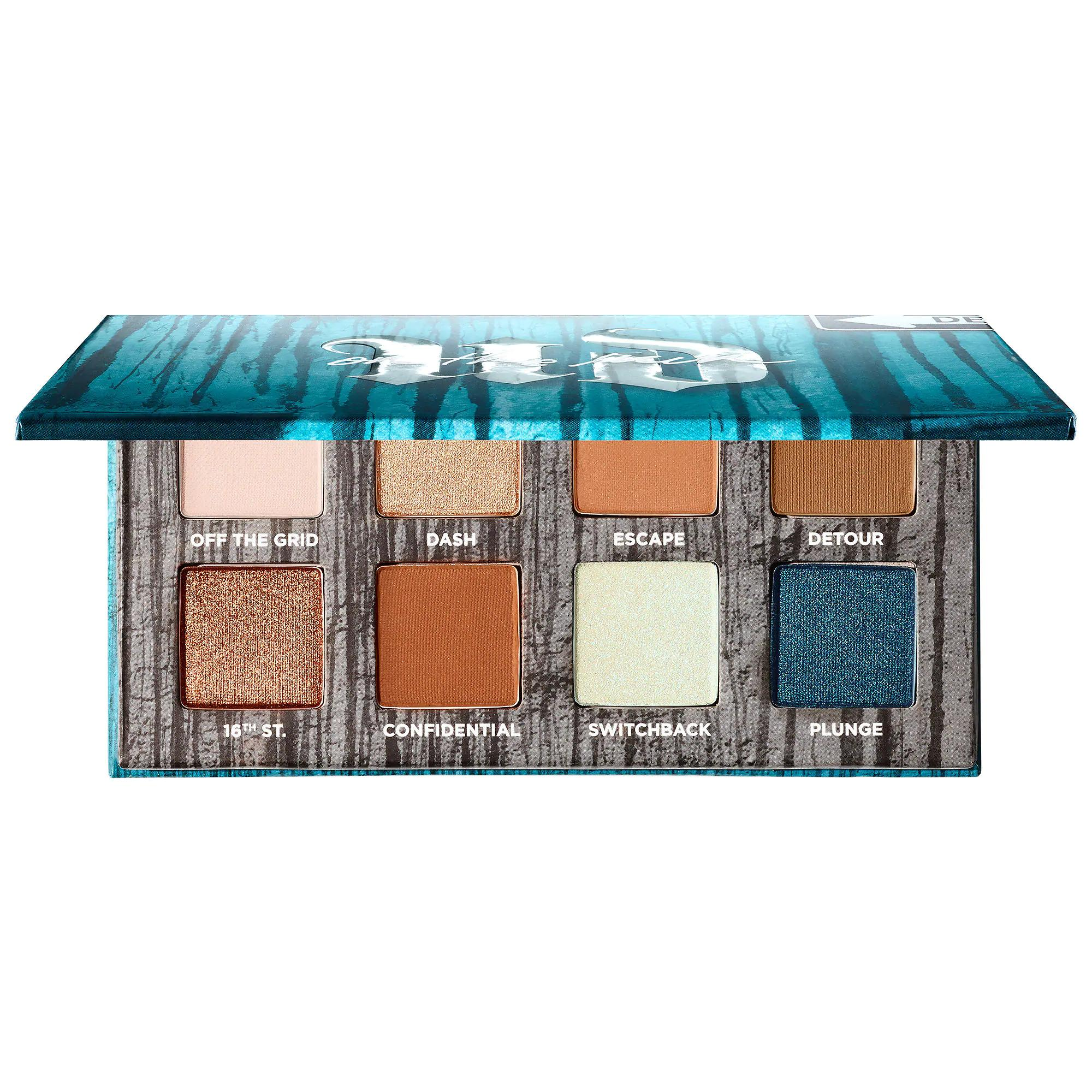 Urban Decay On The Run Eyeshadow Palette Detour