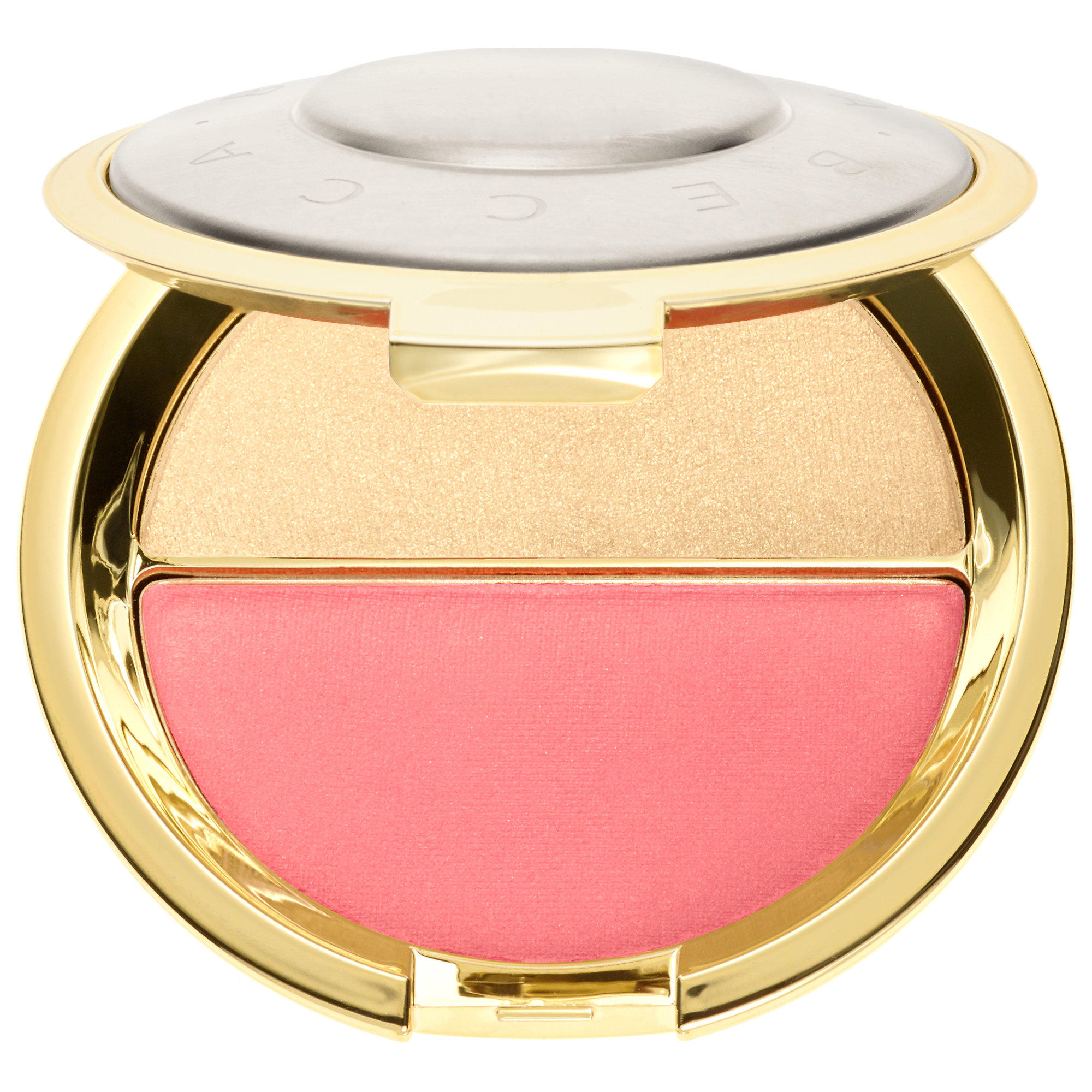 BECCA Champagne Splits Shimmering Perfector Prosecco Pop / Pamplemousse