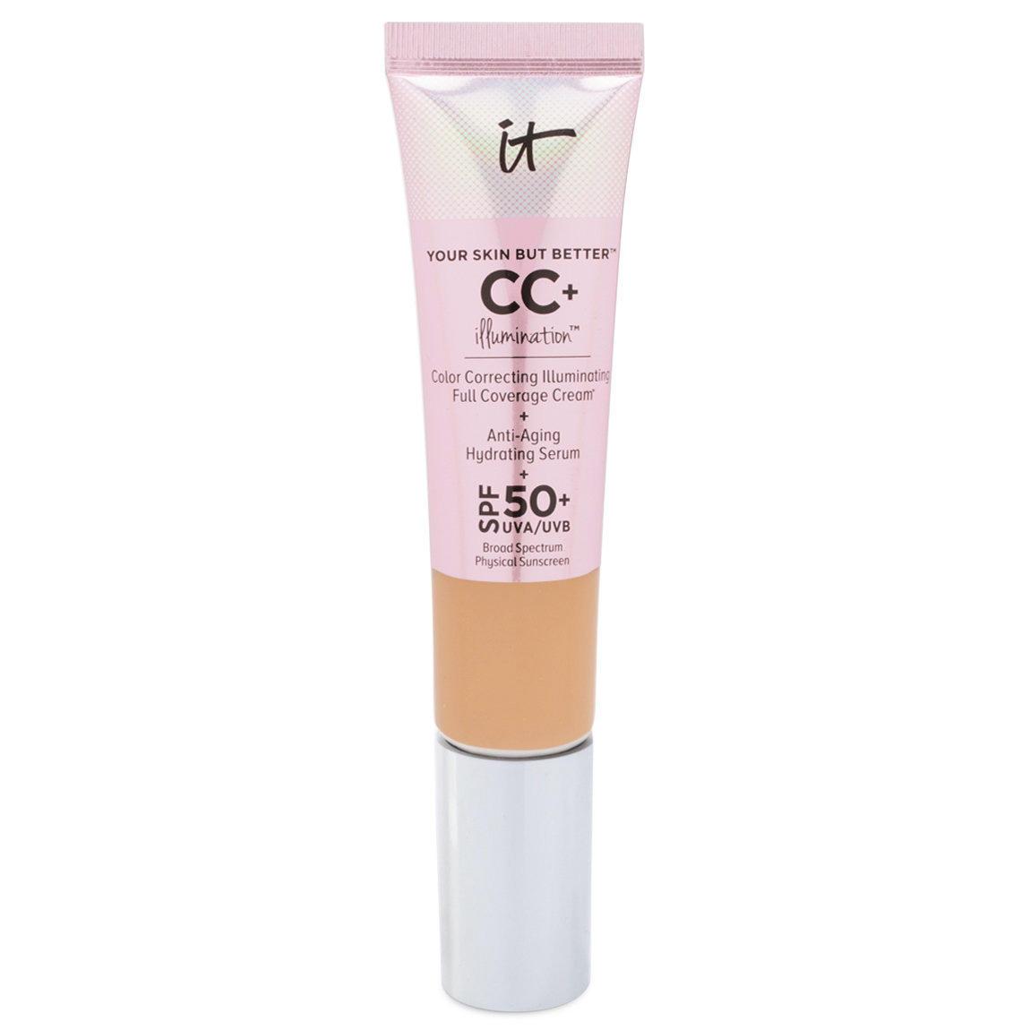 IT Cosmetics CC+ Illumination Color Correcting Full Coverage Cream Medium Tan