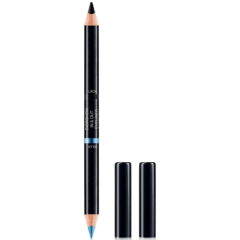 Dior Diorshow In & Out Eyeliner Blue/Black