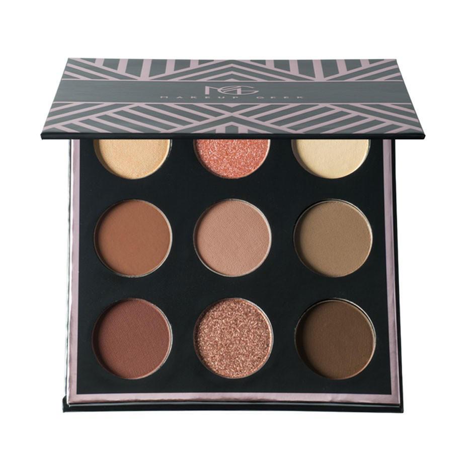 Makeup Geek 9 Color Eyeshadow Palette In The Nude