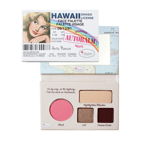 The Balm Autobalm Face Palette Hawaii