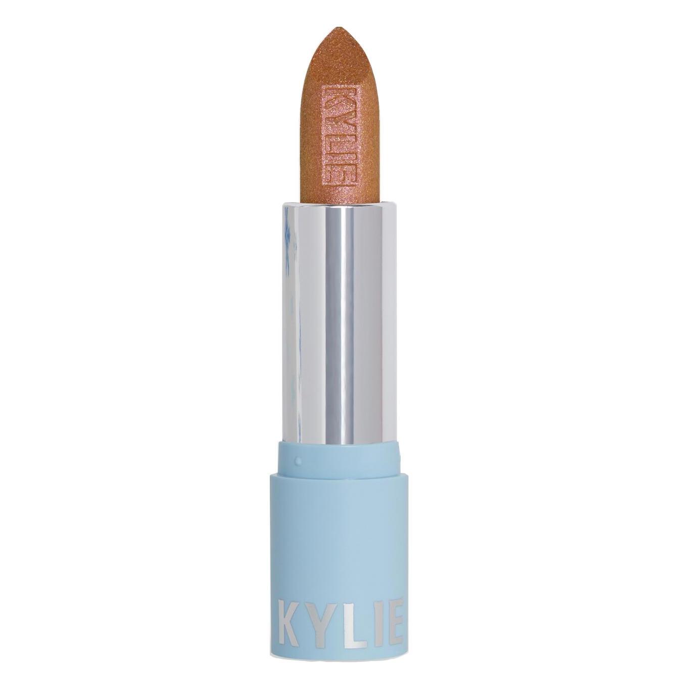 Kylie Metallic Lipstick Snow Cute