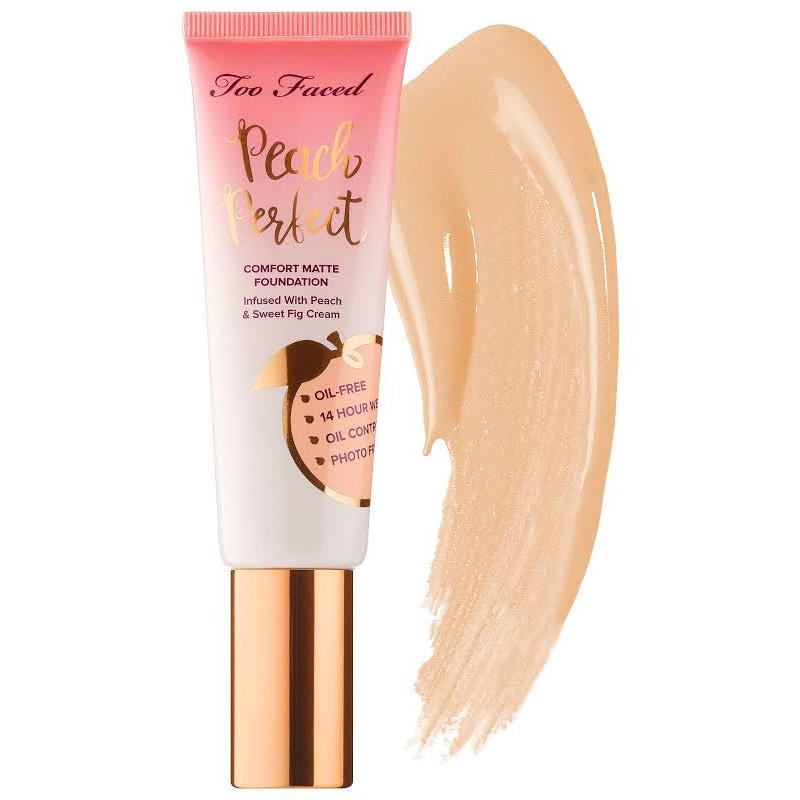 Too Faced Peach Perfect Comfort Matte Foundation Porcelain