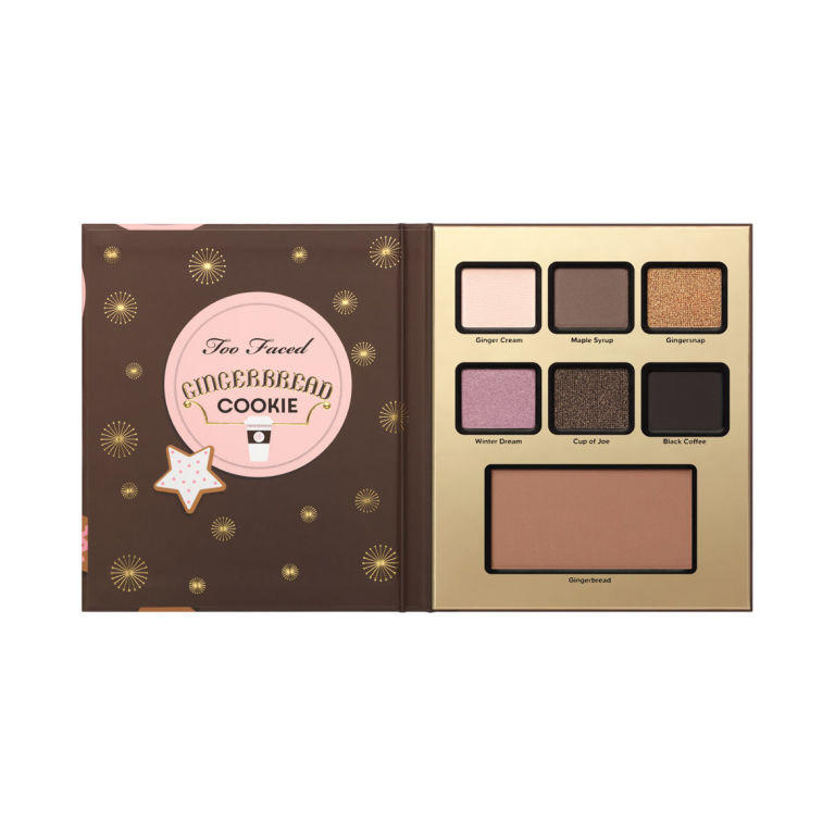 Too Faced Grande Hotel Cafe Palette Gingerbread Cookie