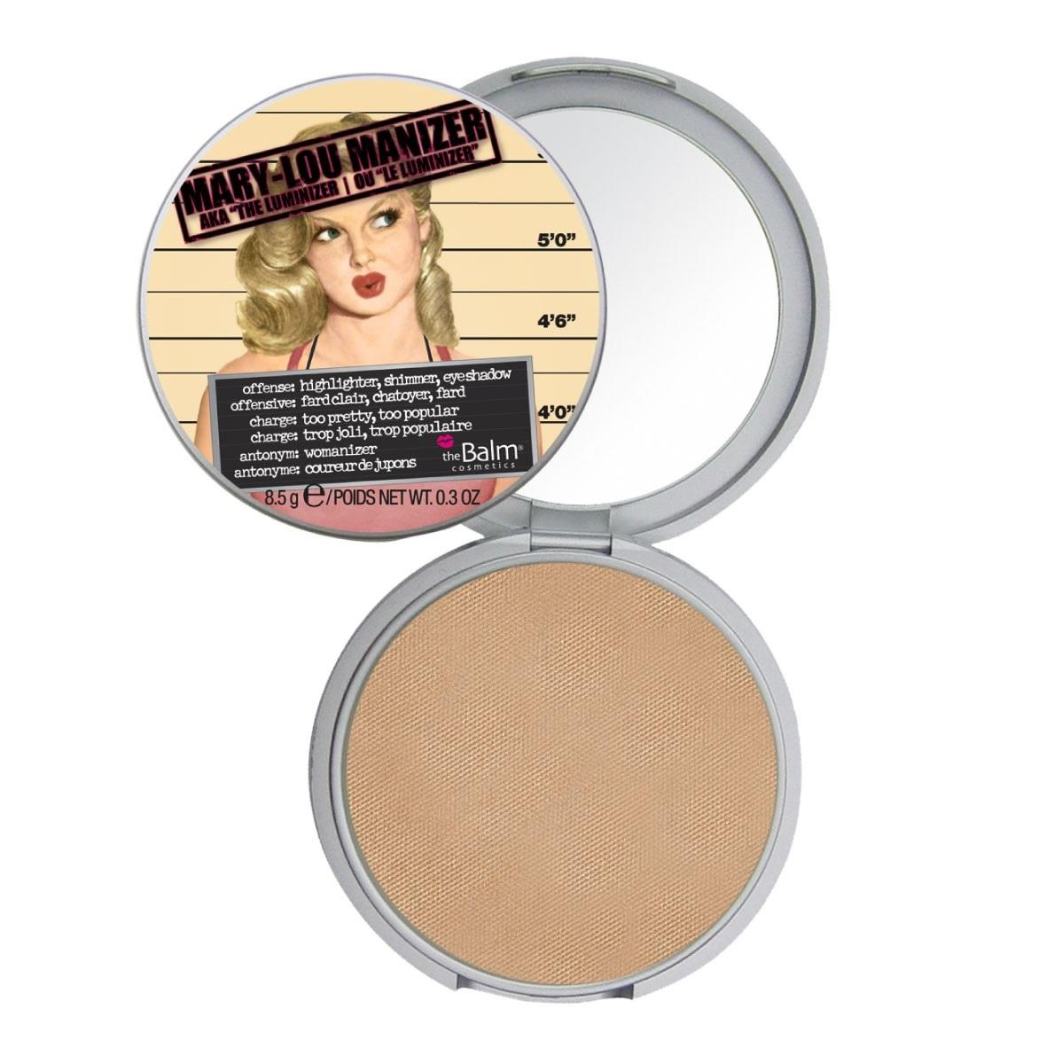 The Balm Highlighter Shimmer Pressed Powder Mary-Lou Manizer