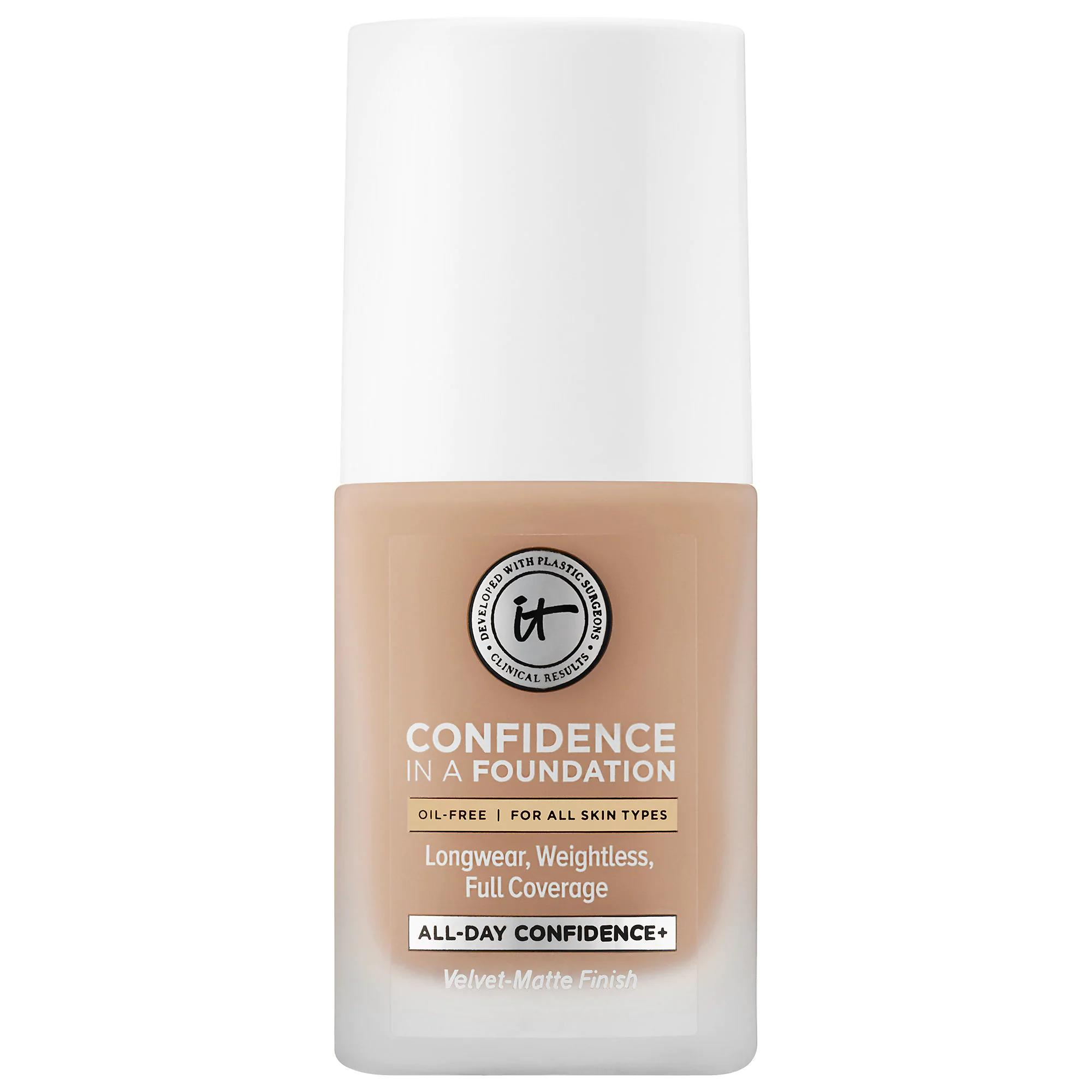 IT Cosmetics Confidence In A Foundation Medium Warm 225