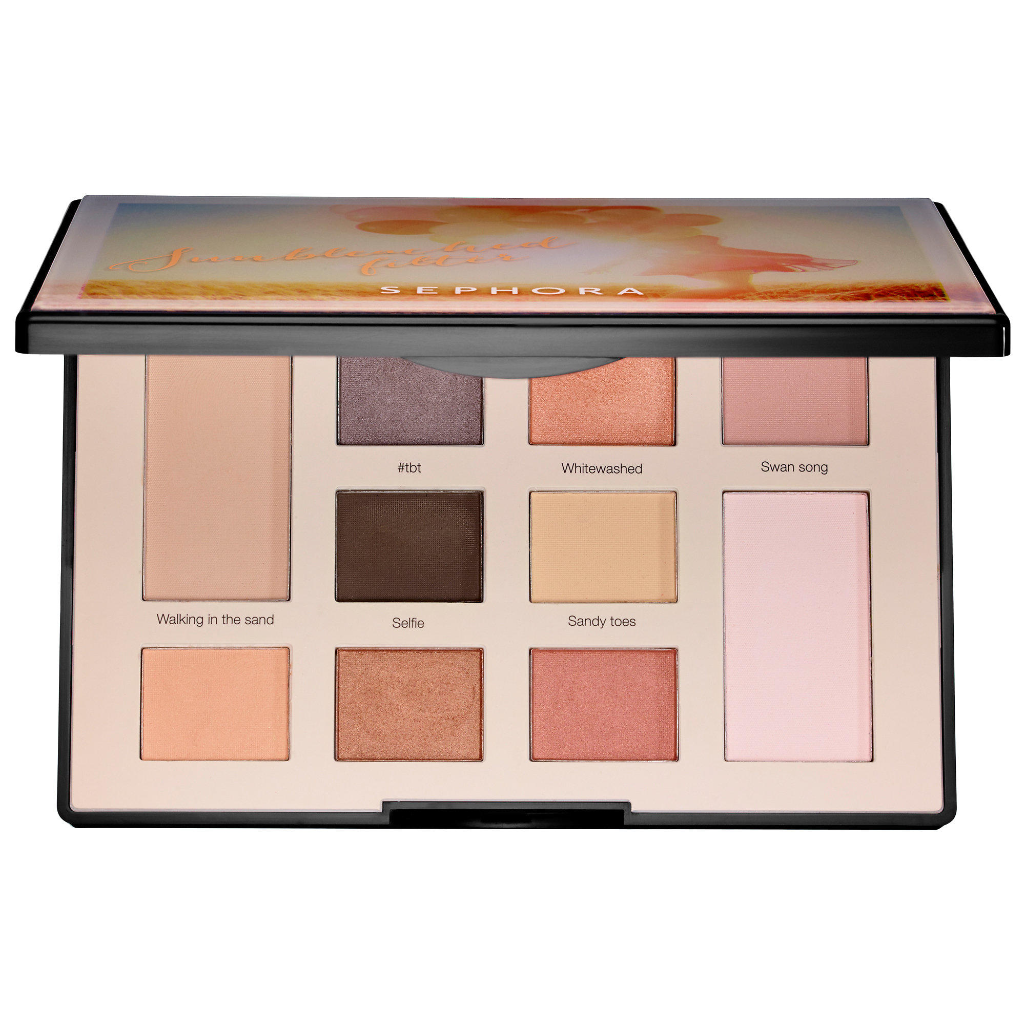 Sephora Colorful Eyeshadow Filter Palette Sunbleached Filter