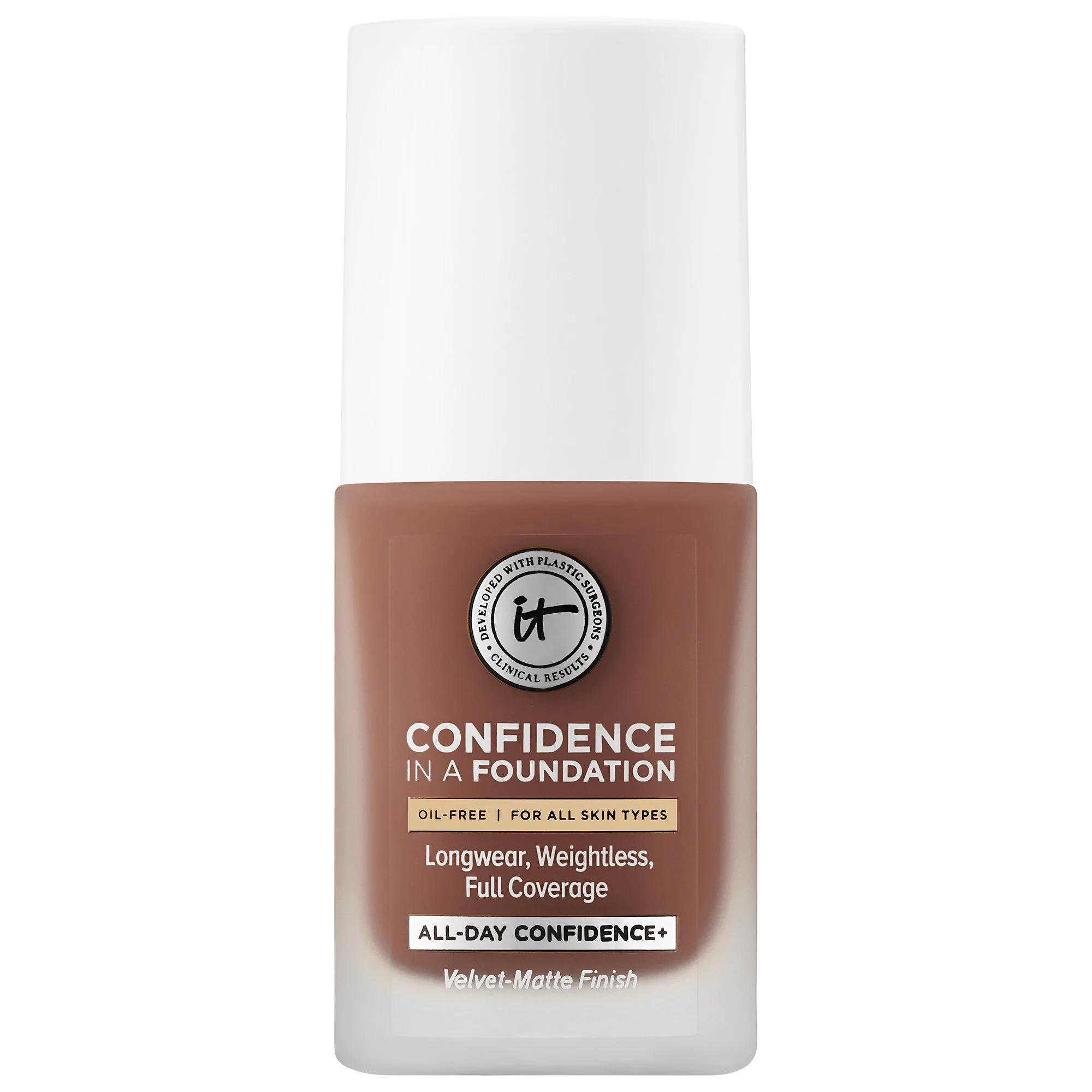 IT Cosmetics Confidence In A Foundation Deep Sienna 505