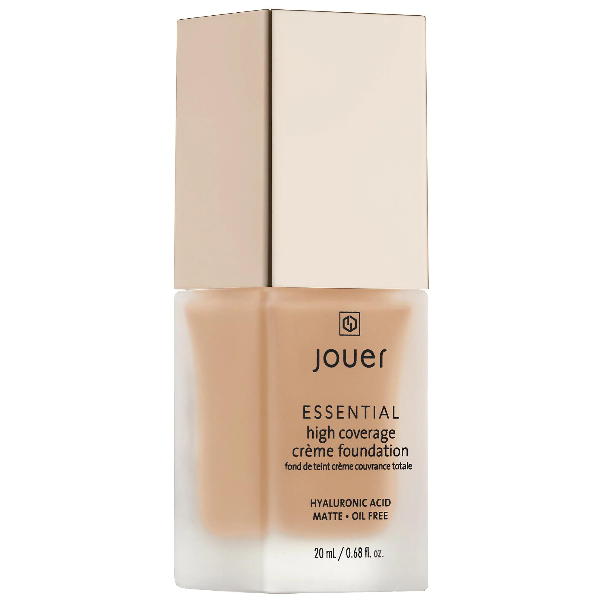 Jouer Essential High Coverage Creme Foundation Latte