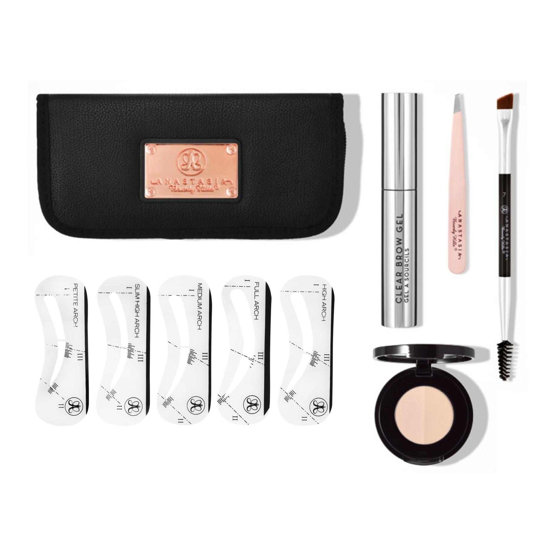 Anastasia Beverly Hills Brow Kit (Without Petite Arch Stencil & Powder Duo)