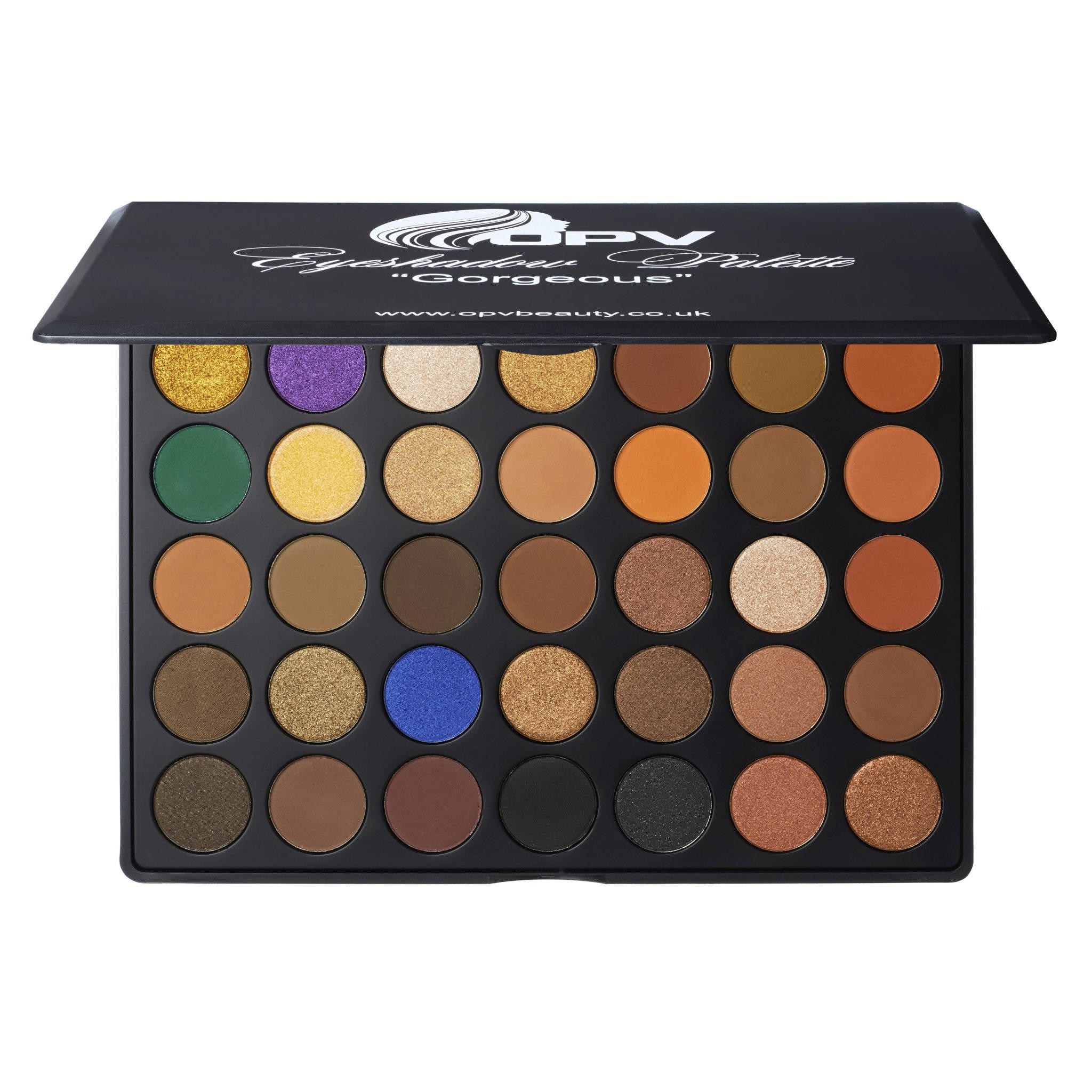 OPV Beauty 35 Color Eyeshadow Palette Gorgeous