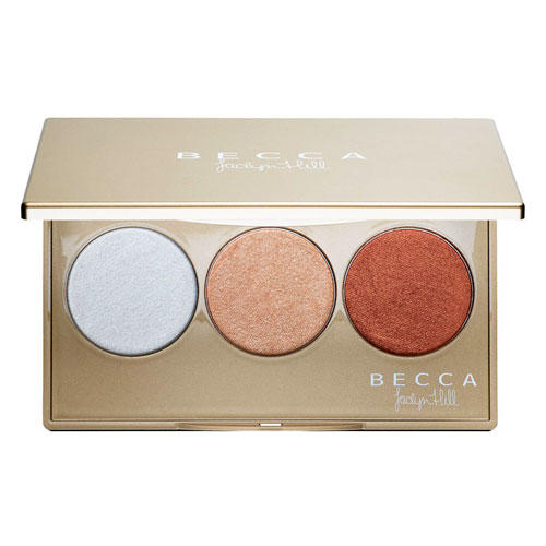 BECCA Pressed  Shimmering Skin Perfector Palette Jaclyn Hill Collection Champagne Glow