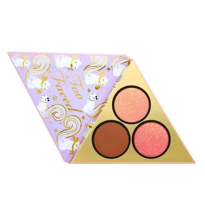 Too Faced Under The Christmas Tree Blush & Bronzer Palette