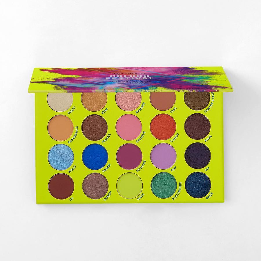 BH Cosmetics Colour Festival Shadow Palette