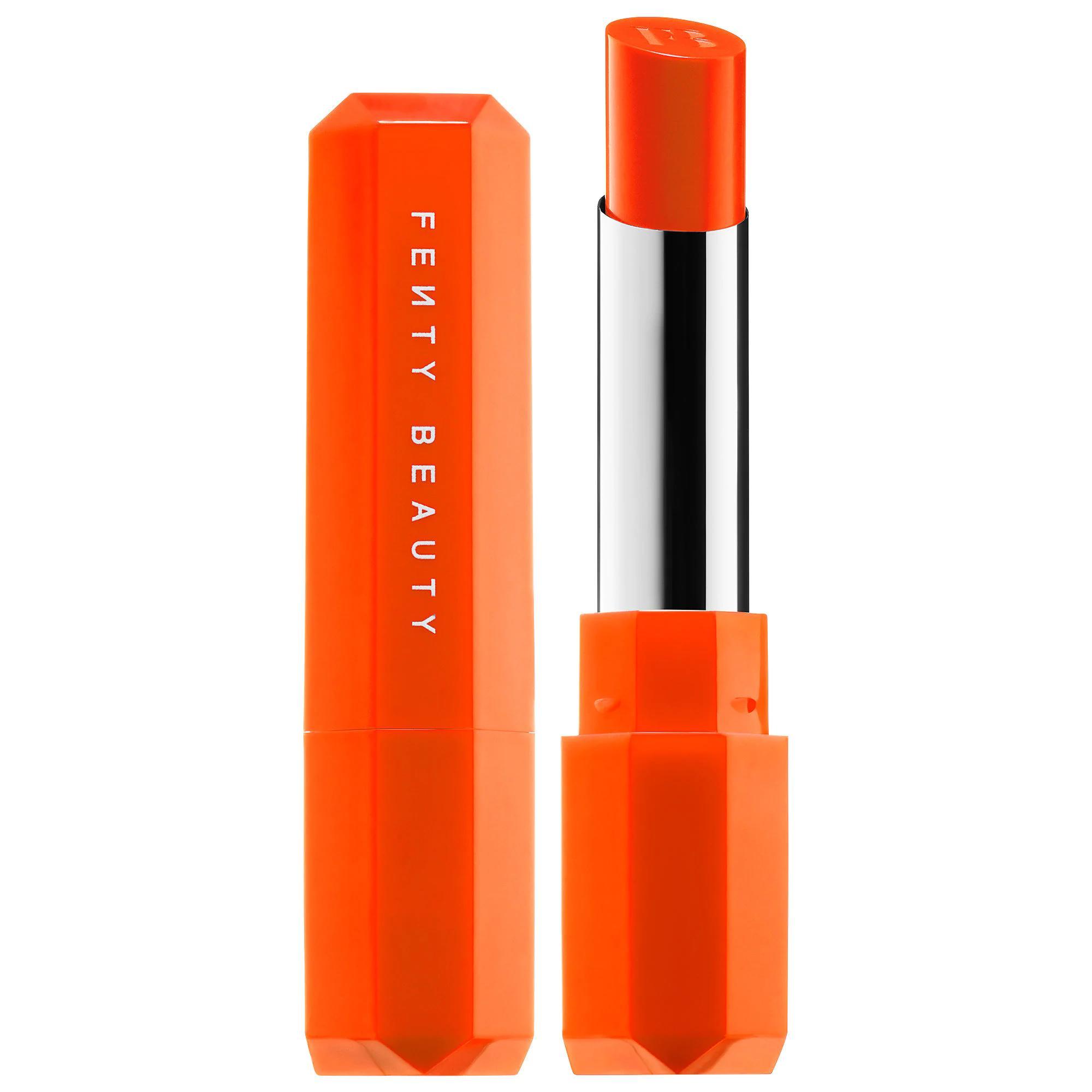 Fenty Beauty Poutsicle Juicy Satin Lipstick Sun Snatched