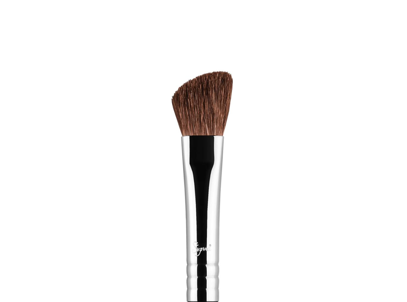 Sigma Medium Angled Shading Eye Brush E70 Matte Black Handle