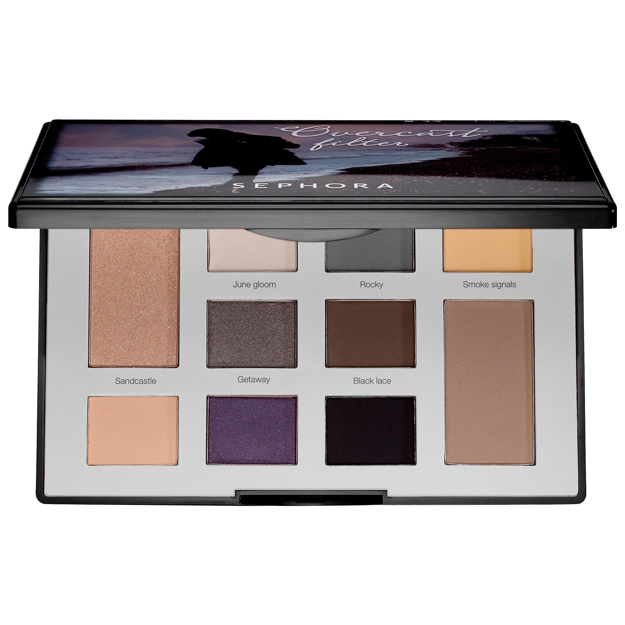 Sephora Colorful Eyeshadow Palette Overcast Filter