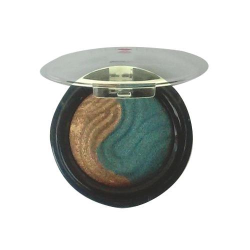 Laura Geller Baked Eclipse Eyeshadow Duo Bronze & Emerald