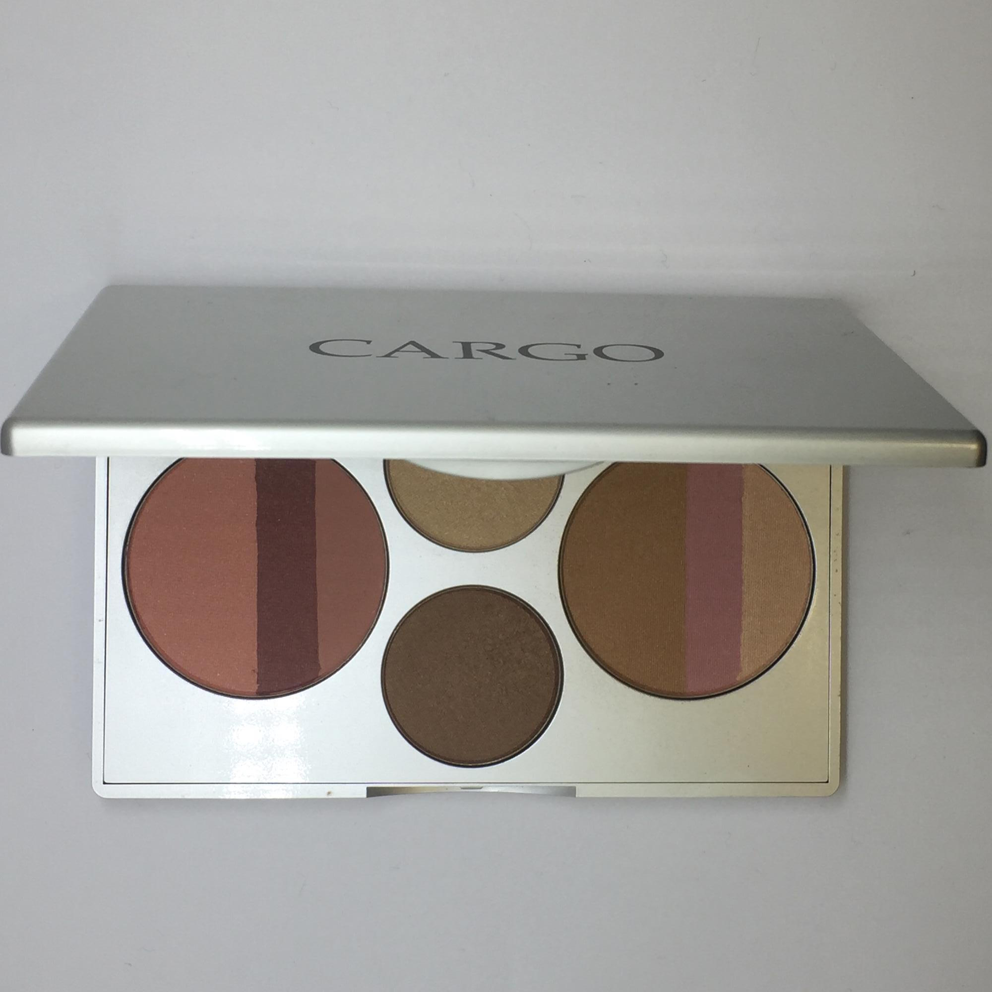 cargo 10th anniversary commemorative eye cheek palette