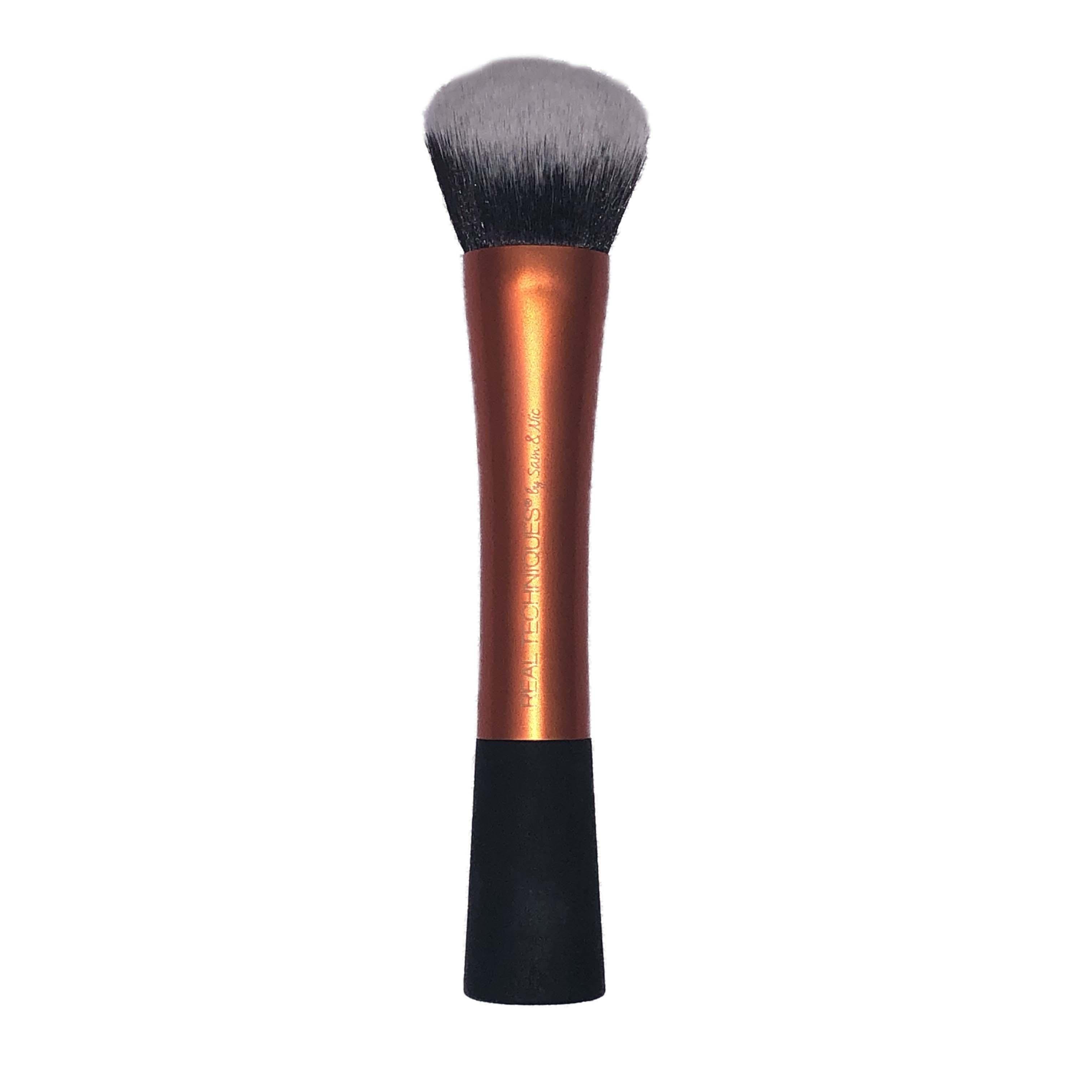Real Techniques Large Slanted Duo-Fibre Face Brush Orange