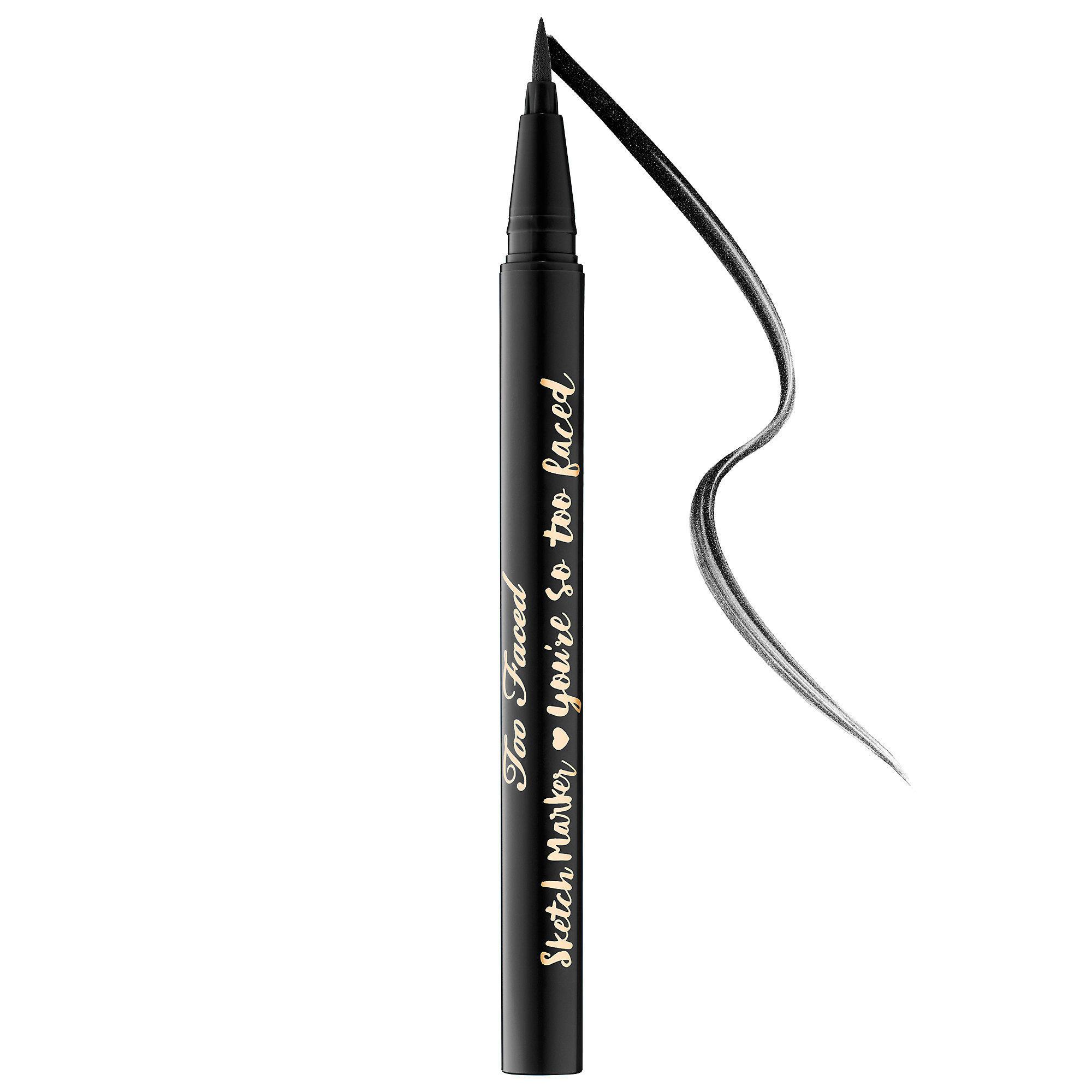 Too Faced Sketch Marker Liquid Art Eyeliner Black