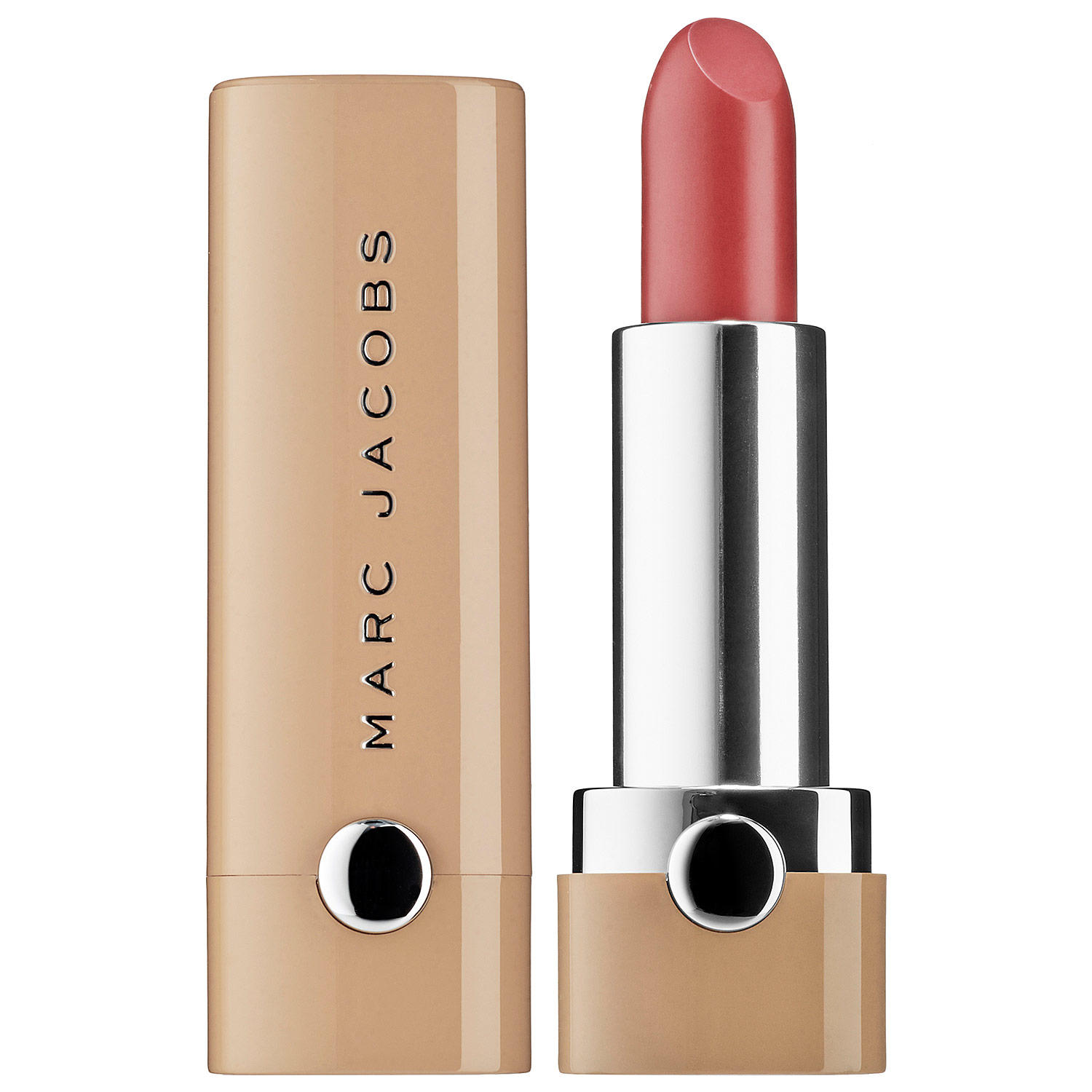 Marc Jacobs New Nudes Sheer Gel Lipstick Eat Cake 150