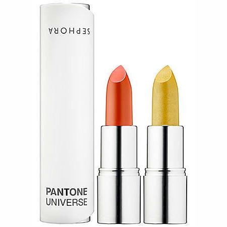 Sephora + Pantone Universe Ombre Dual Lipstick Cornsilk & Grenadine