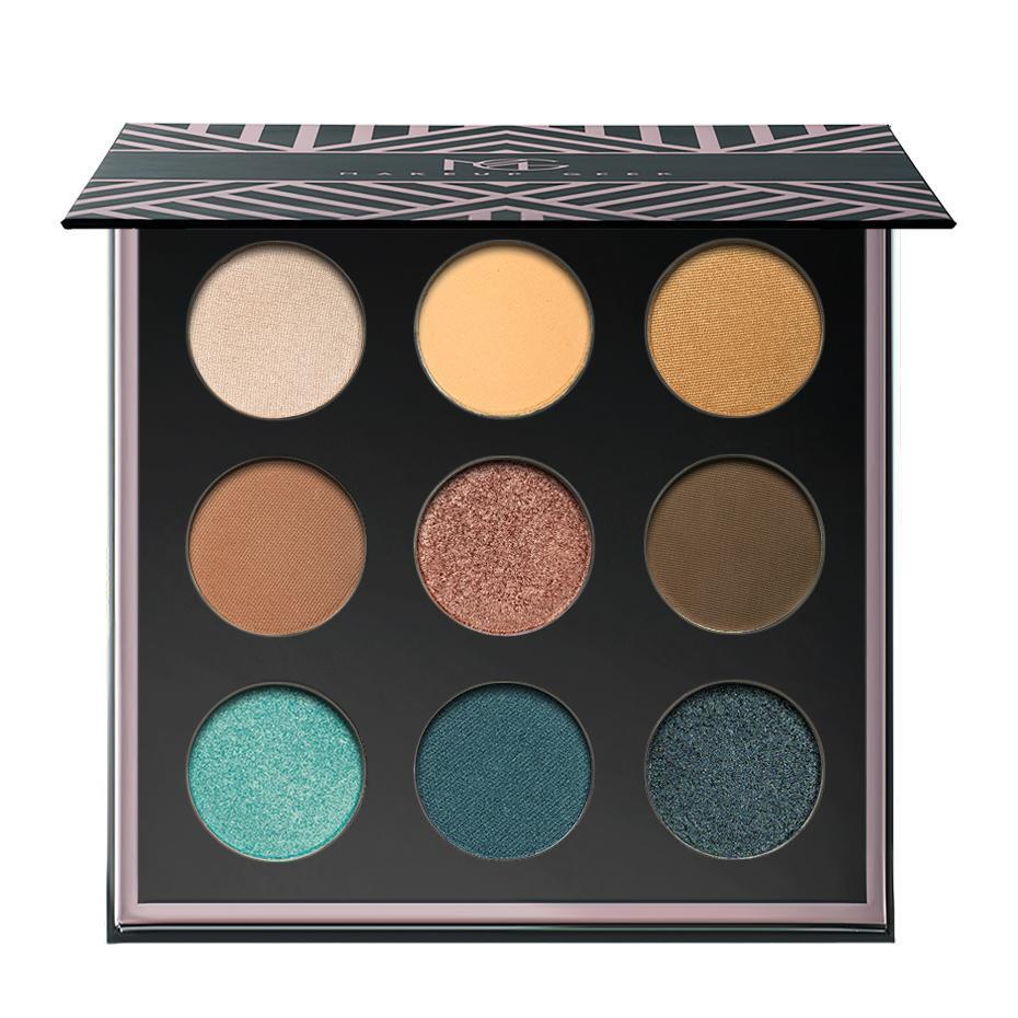 Makeup Geek Eyeshadow Palette Reflection