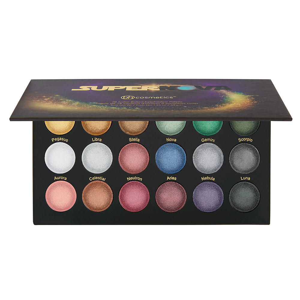 BH 18 Color Baked Eyeshadow Palette Supernova