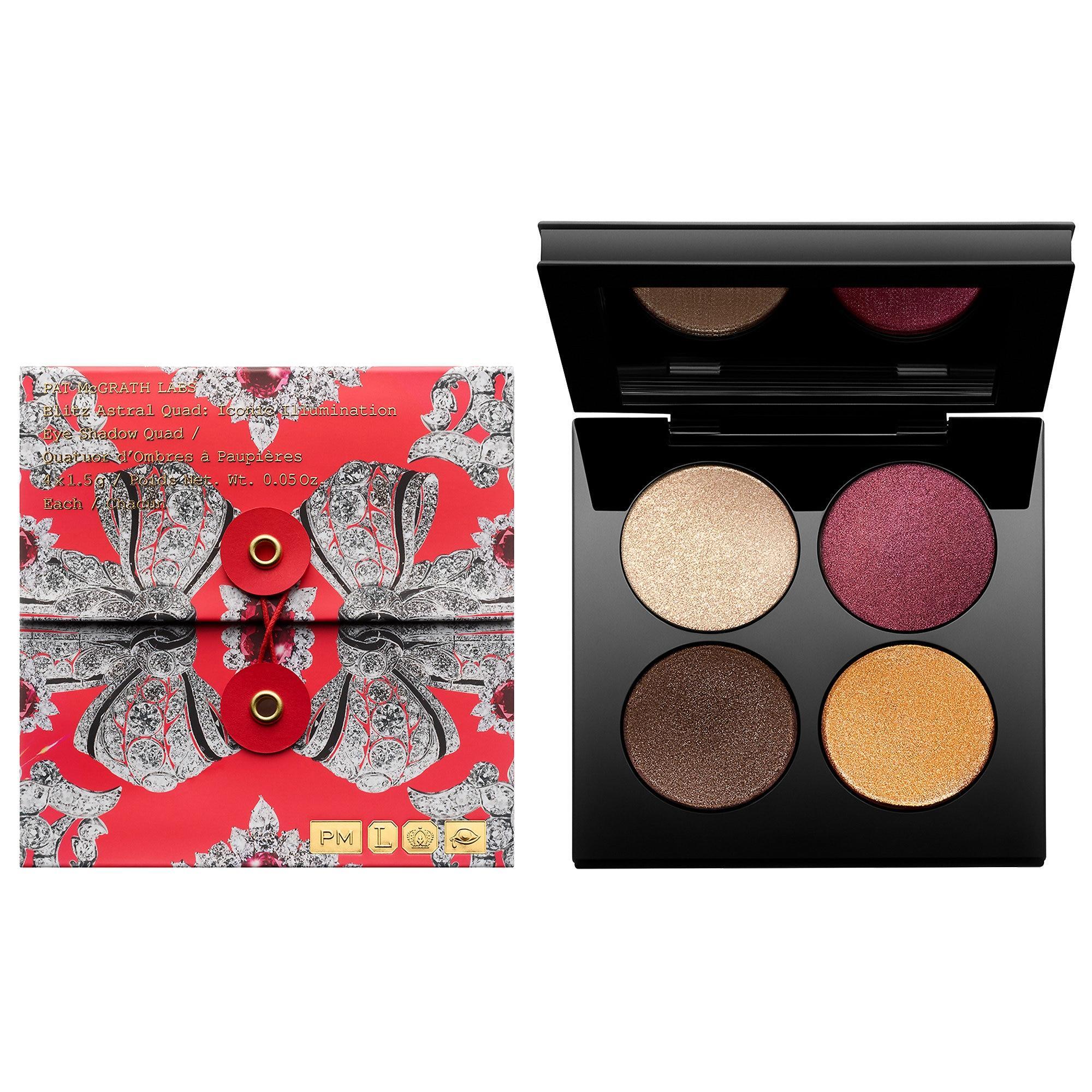 Pat McGrath Labs Blitz Astral Quad Eyeshadow Palette Iconic Illumination