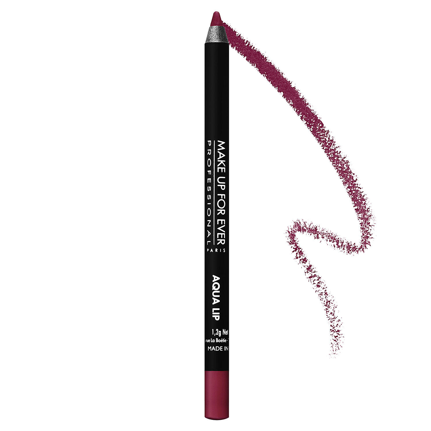 Makeup Forever Aqua Lip Waterproof Lipliner Pencil Matte Raspberry 10C