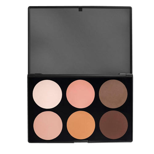 Morphe 6 Color Pressed Powder And Contour Palette 06F
