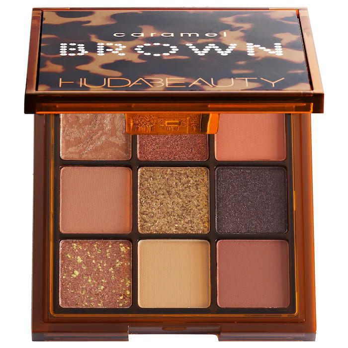 Huda Beauty Brown Obsessions Eyeshadow Palette Caramel