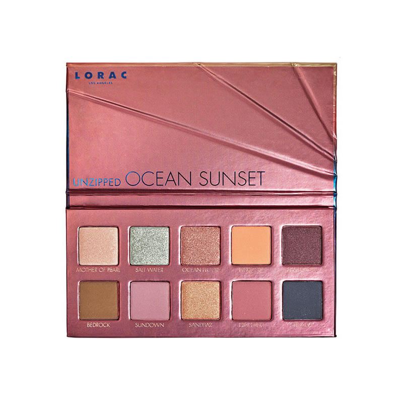 LORAC Unzipped Eyeshadow Palette Ocean Sunset