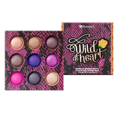 BH Cosmetics Baked Eyeshadow Palette Wild At Heart