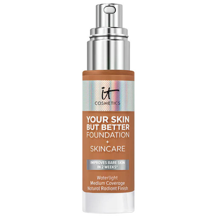 IT Cosmetics YSBB Foundation + Skincare Tan Warm 44