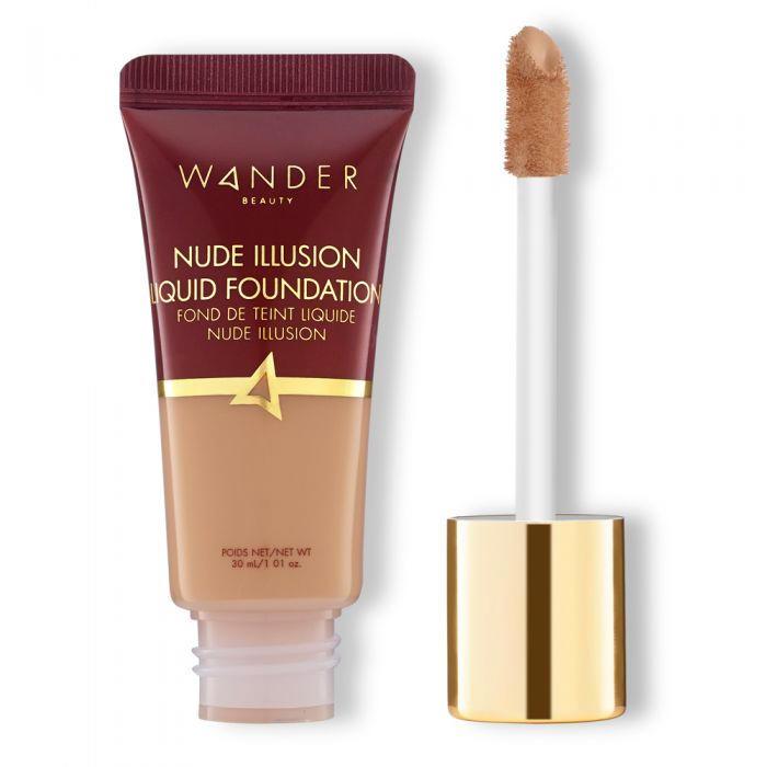 Wander Beauty Nude Illusion Liquid Foundation Medium
