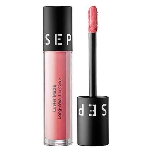 Sephora Matte Long-Wear Lip Color Nude Pink Luster