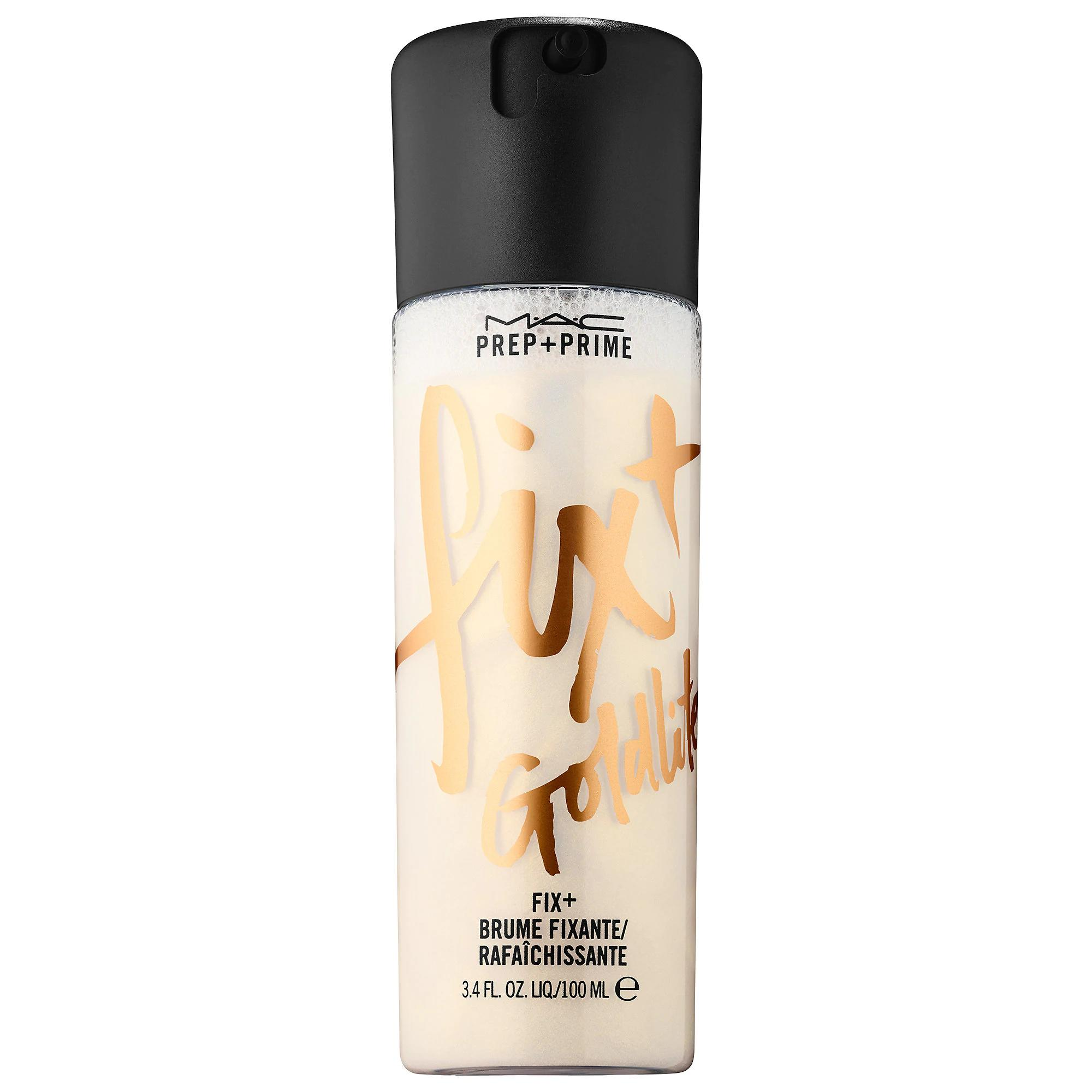 MAC Prep + Prime Fix+Skin Refresher Finishing Mist Goldlite
